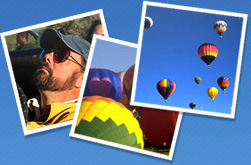 ballooning photographs